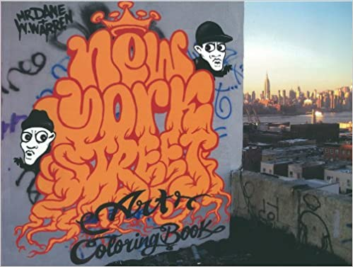 Amazon.com: New York Street Art Coloring Book (9780955089374): Books