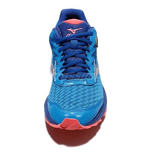 Mizuno Wave Rider 20GTX blau-Schuhe Running Damen Wasserdicht