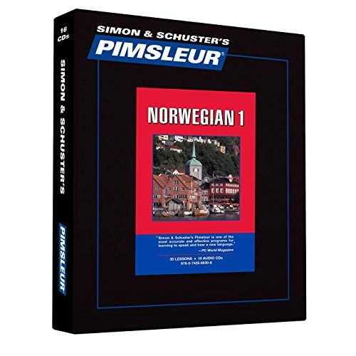 Pimsleur Norwegian Level 1 CD: Learn to Speak and Understand Norwegian with Pimsleur Language Programs (1) (Comprehensive) (Norwegian Rosetta Stone)