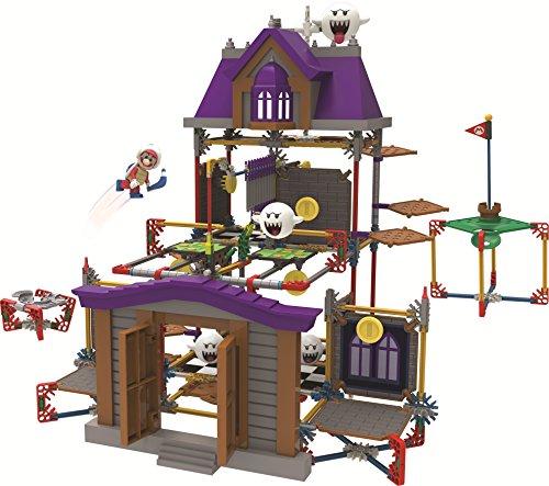 K'NEX Nintendo Super Mario 3D Land Ghost House Building Set