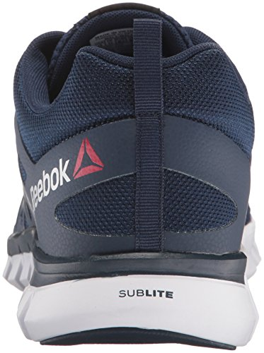 Reebok Sublite XT Cushion 2.0 Mens Trainers Running Shoes Sneakers Gym Mid Blue | eBay