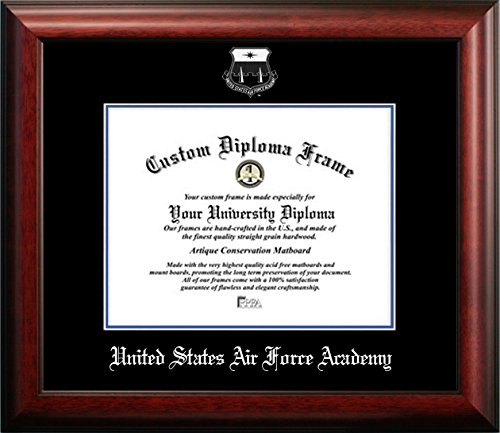 United States Air Force Academy Graduation Diploma Frame (8.5)