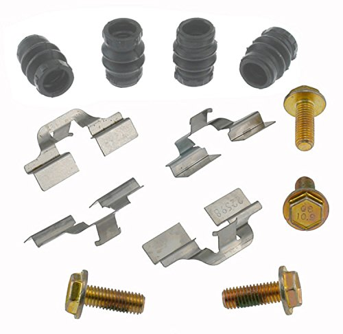 ACDelco 18K1005X Professional Rear Disc Brake Caliper Hardware Kit with Clips, Seals, and Bolts ()