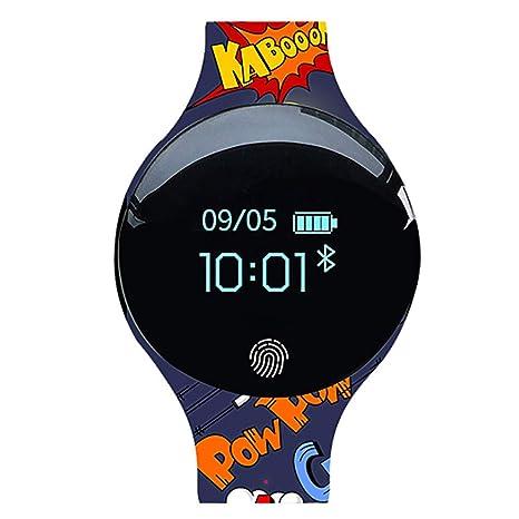 Amazon.com: WANGKM Smart Watch Heart Rate Monitor Pedometer Smart Sports Waterproof Bracelet, Unisex,B: Electronics