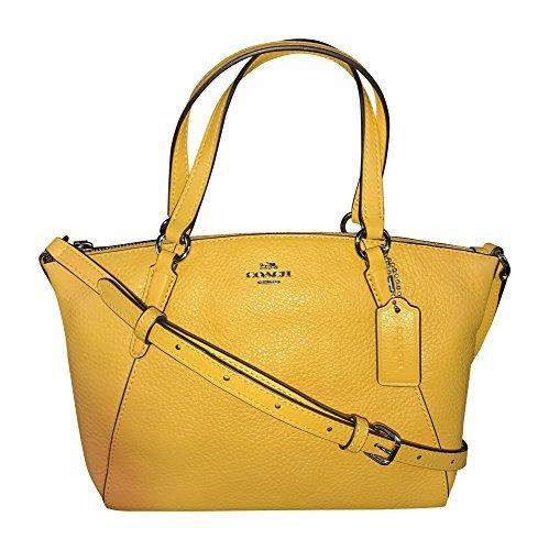 Yellow Leather Handbags - 7