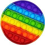 Brinquedo Pop It Fidget Colorido Anti-Stress Sensorial Importado (Redondo)