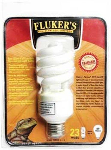 Fluker's Sun Glow Coil Bulb for Reptiles and Birds, 20 watt 10.0 UVB