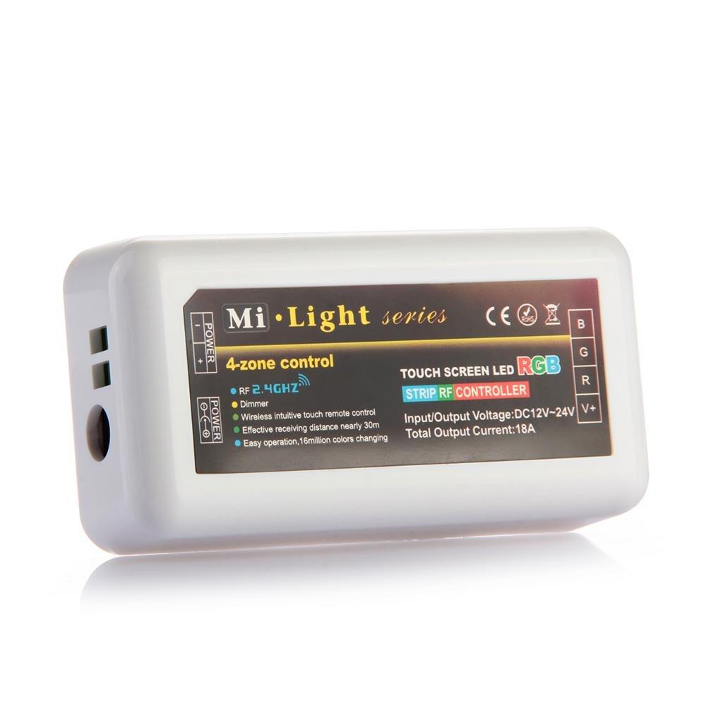Mó dulo de mando inalá mbrico WiFi, controlador LED, Wlan 2.4 G RGB mi-light