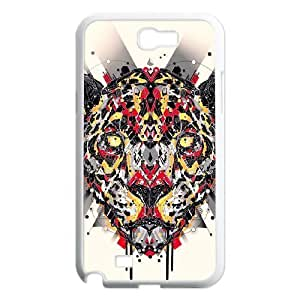 Animal Art Artificial Customized Cover Case with Hard Shell Protection for Samsung Galaxy Note 2 N7100 Case lxa#836682