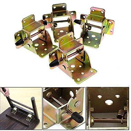 Juego de 4 soportes plegables para patas de sillas, con ...