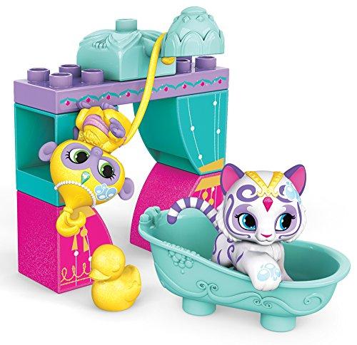 (Mega Bloks Shimmer & Shine Pets Splash & Play Building Set)