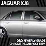 2004-2007 Jaguar XJ8 6pc. SES Chrome Pillar Trim Covers