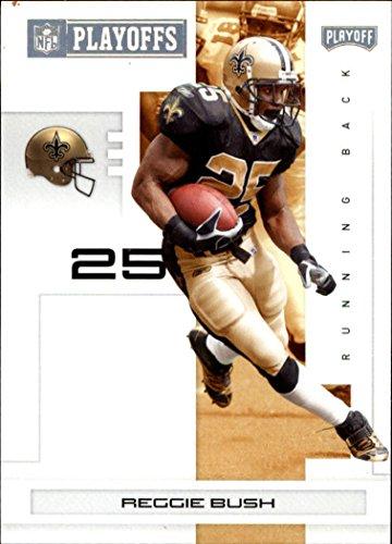 299 Bush - 2007 Playoff NFL Playoffs Gold #62 Reggie Bush /299