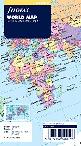 Filofax Personal World Map by Filofax (Image #2)