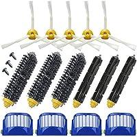 Theresa Hay Replacement 4 Aero Vac Filter+3 set Beater Brush+5 side Brush kit for iRobot Roomba 600 Series 610 620 625 630 650 660