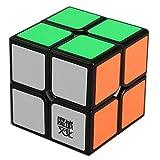 2X2X2 black base Rubik's Cube to stimulate your child's imagination