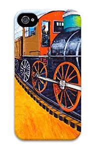 iPhone 4S/4 Cases - Color Train PC Hard Case Back Cover for iPhone 4 and iPhone 4s