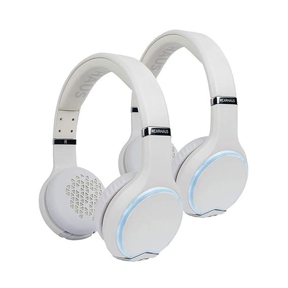 f0b761b2aca Wearhaus Arc On-Ear Bluetooth Headphones with Wireless Music Sharing,  Customizable Color Ring,