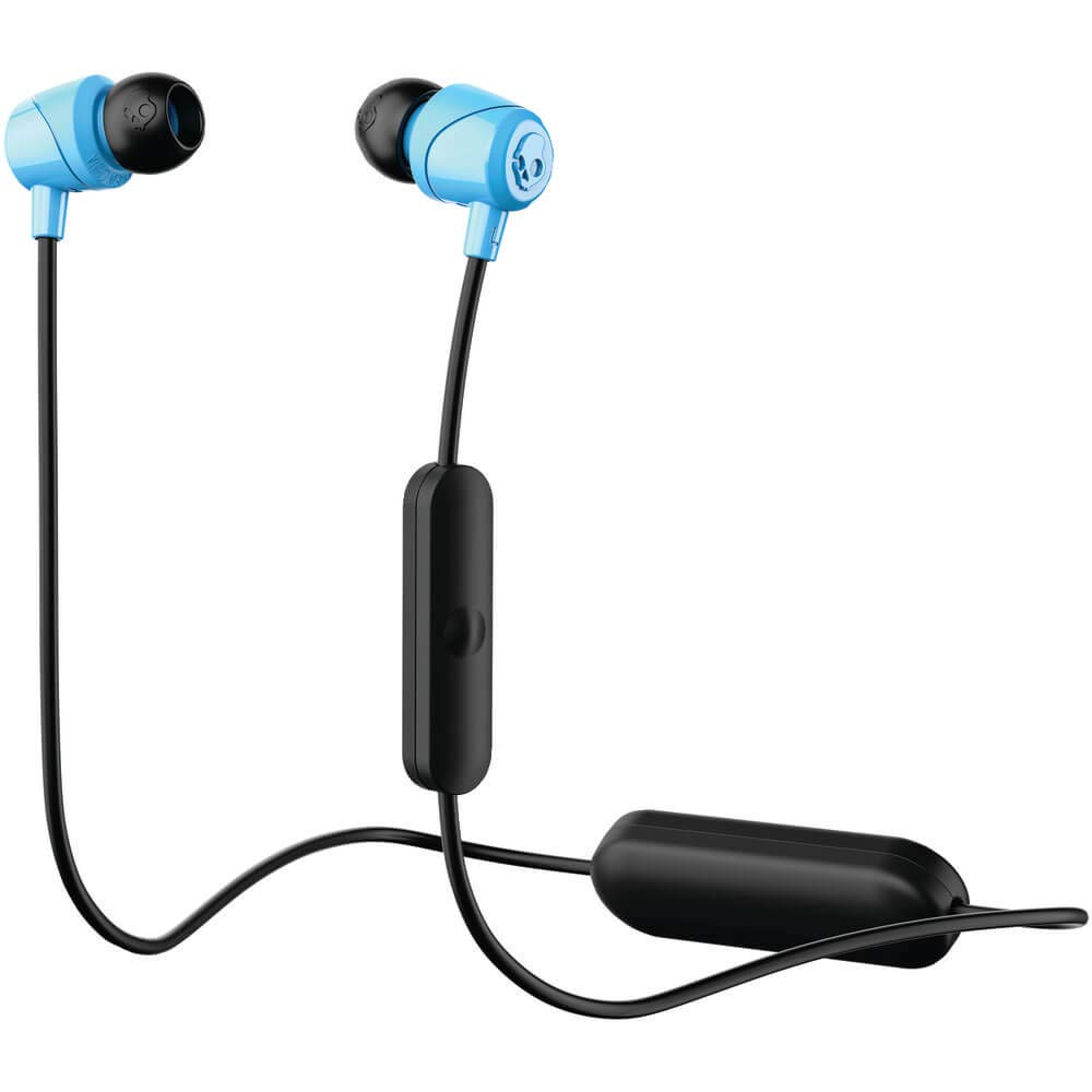 Skullcandy SCS2DUW-K003 Jib Bluetooth Wireless in-Ear Earbuds with Microphone for Hands-Free Calls, Black
