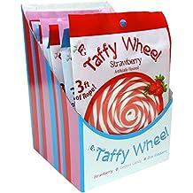 Original Gourmet Taffy Wheel, Assortment, 3.1 Ounce (Pack of 12)