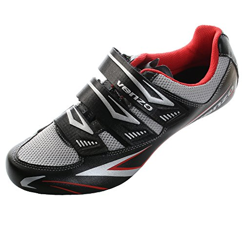 Venzo Road Bike For Shimano SPD SL Look Cycling Bicycle Shoes 44