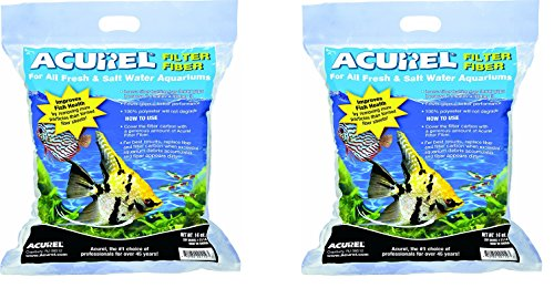 (2 Pack) Acurel LLC 100-Percent Polyester Filter Fiber, 14-Ounce each