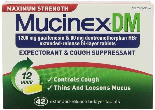 Mucinex Dm Tabs E/R 1200 Mg 42