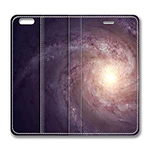 iPhone 6 Plus Case, Fashion Protective PU Leather Flip Case [Stand Feature] Cover Spiral Galaxy Light for New Apple iPhone 6(5.5 inch) Plus