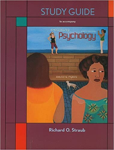 myers psychology 8th edition study guide answers