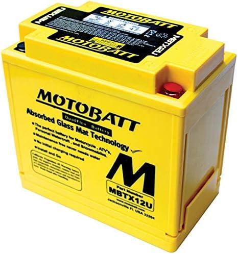 Db Electrical MBTX12U Battery for Motobatt Battery 14Ah,Aprillia,Bimota,Honda,Kawasaki,Moto Guzzi,Suzuki,Triumph,Yamaha,Kymco,Oiaggio-Gilera,Sym,Polaris Artic Cat Bmw Husqvarna,Buell Atv Motorcycle