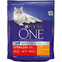 Purina One Sterilcat - Chicken and Wheat, 800 gm