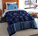 The Northwest Company MLB Kansas City Royals Twin Bed in a Bag Complete Bedding Set #831648976