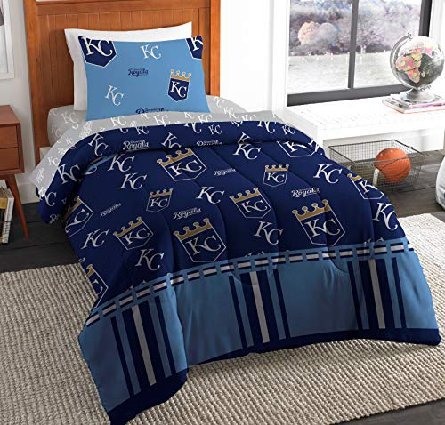 - The Northwest Company MLB Kansas City Royals Twin Bed in a Bag Complete Bedding Set #831648976