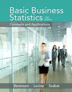 Basic business statistics 13th edition berenson solutions manual.