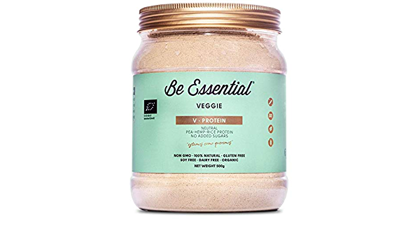 Be Essential – V Protein, Proteina 100% Natural, organic: pea ...