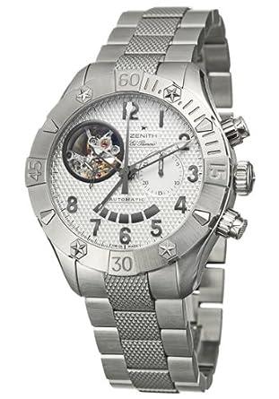 58014afac40 Zenith Defy Classic Open Chronograph EL PRIMERO 03.0516.4021 01.m516   Amazon.co.uk  Watches