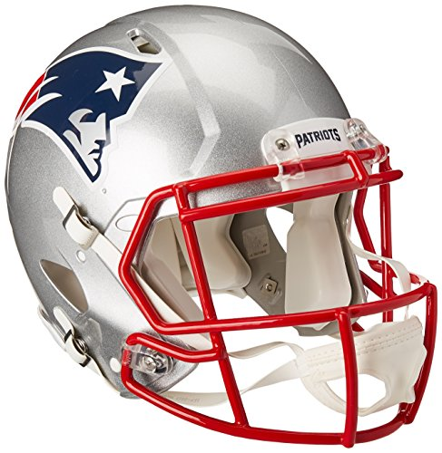 Authentic New Football - NFL New England Patriots Speed Authentic Football Helmet