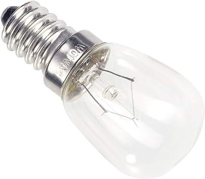 Lámpara de tubo pequeño eficiencia energética: E (A++ - E) Casco de barba 00982425, potencia: 25 W, transparente: Amazon.es: Hogar
