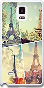 Samsung Case,Dseason Samsung Galaxy Note 4 Case NEW High Quality Unique Design Christian Quotes The Eiffel Tower