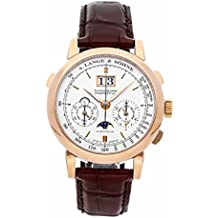 A. Lange & Sohne Saxonia mechanical-hand-wind mens Watch 410.032E (Certified Pre-owned)