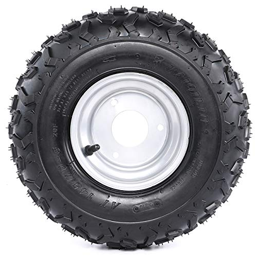 Go Kart Karting Atv Utv Buggy 16x8-7 Inch Wheel Tubeless Tyre Tire With Hub Atv,rv,boat & Other Vehicle