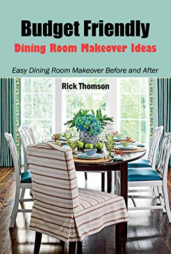 Budget Friendly Dining Room Makeover Ideas: Easy Dining Room Makeover Before and After