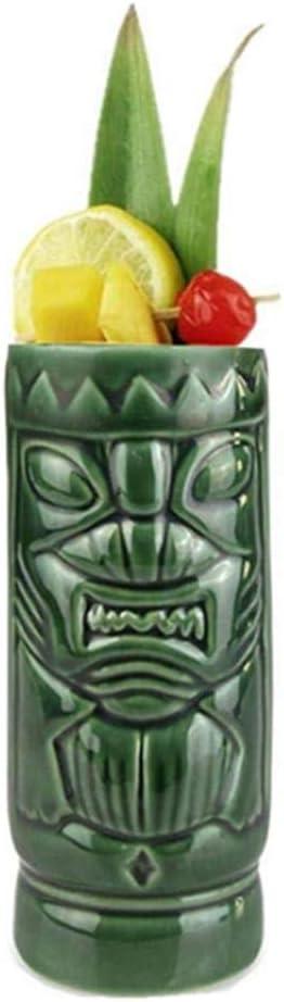 Tiki Tassen Set Keramik Cocktail Tassen Gl/äser Getr/änke Tassen Hawaiian Party Barware