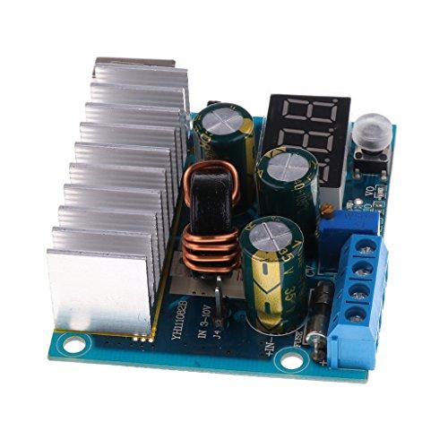 KESOTO DC~DC 昇圧 電源 電圧 コンバータ モジュール 3-35ボルト 100ワット 調整可能