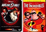 The Incredibles , Inspector Gadget : Walt Disney 2 Pack Collection