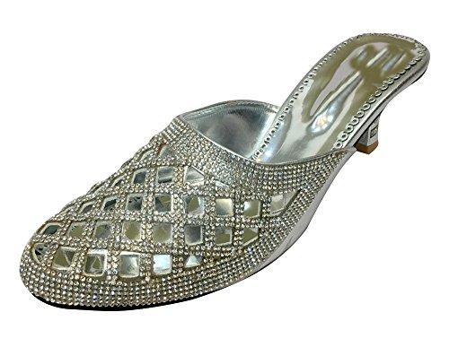 Style Step n Sandalen silber Damen silber gqR1x8H