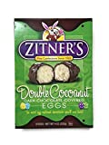chocolate covered eggs - Zitner's Double Cocoanut Dark Chocolate Covered Eggs, 9 oz. Box of 8 Eggs
