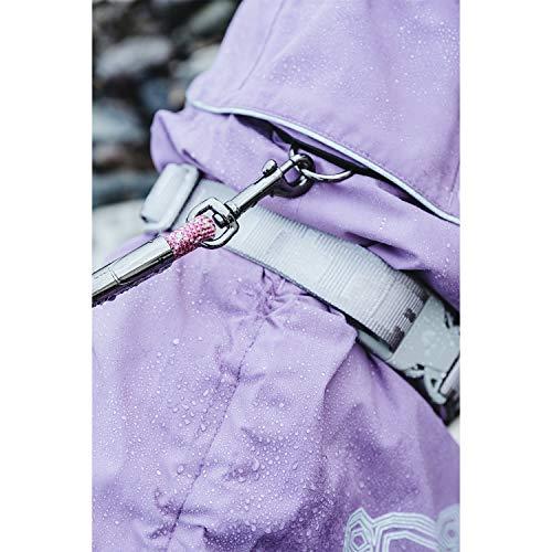 Hurtta Drizzle Coat, Dog Raincoat, Raven, 24 in by Hurtta (Image #4)