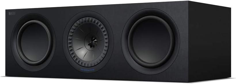 KEF Q650c Center Channel Speaker (Each, Black)