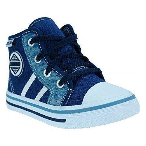 Canguro Zapatillas de Lona Para Niño Azul Turquesa 25 EU